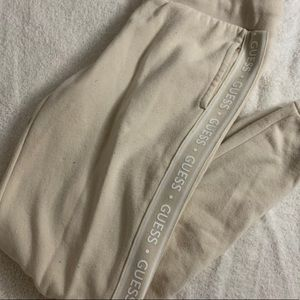 Guess Creme Sweatpants